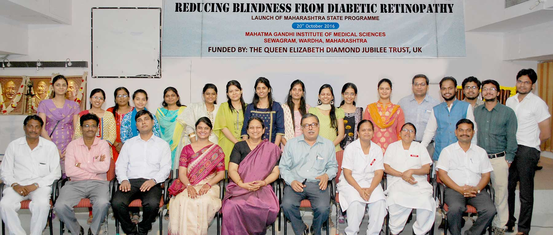 Reducing Blindness from Diabetic Retinopathy in Wardha